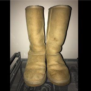 Classic tall tan UGG boots